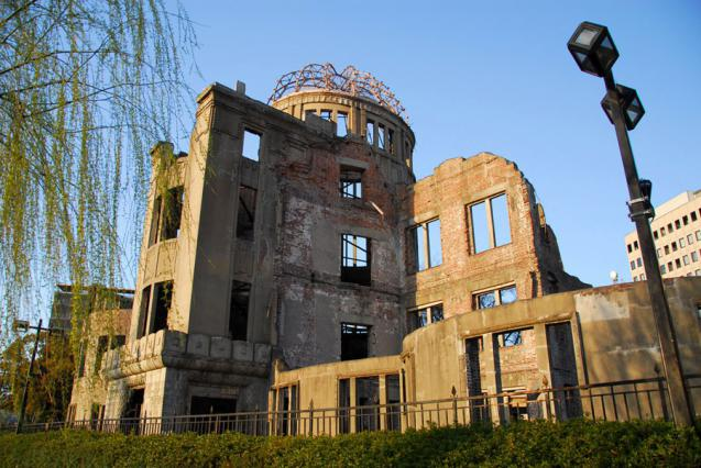 Peace Memorial Dome at Hiroshima