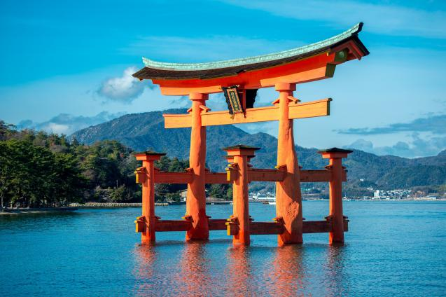 Shinto Shrine at Itsukushima