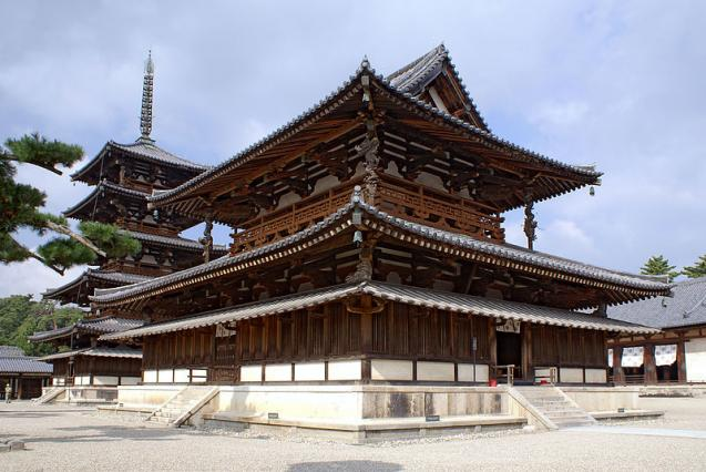 Buddhist Monuments at the Temple of Horyu-ji