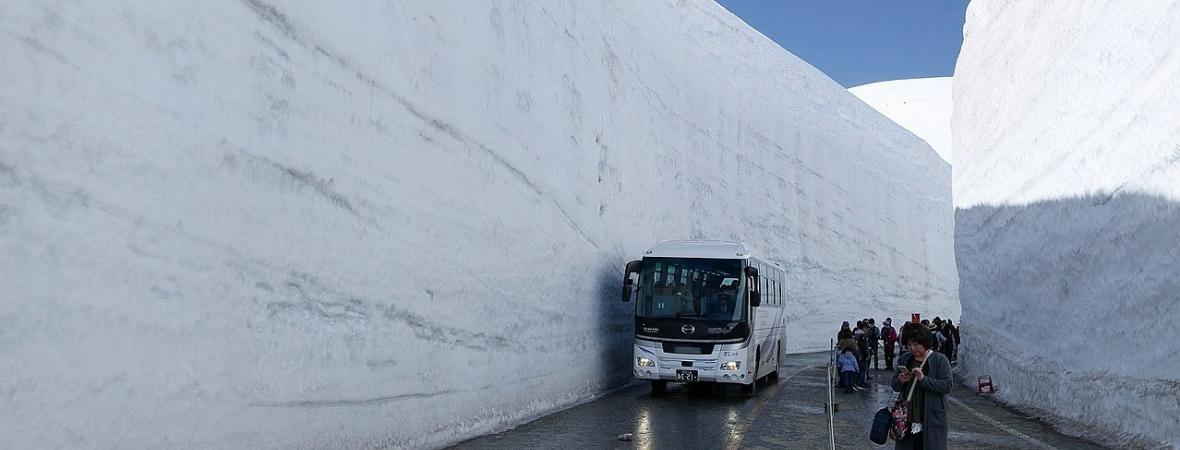 Tateyama Kurobo Alpine Route